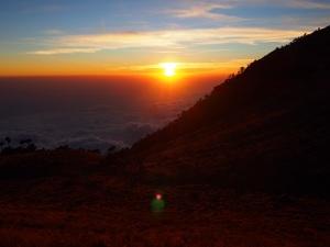 Sunset view from Tajumulco
