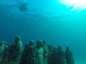 Museo Subacuatico De Arte (MUSA) or Underwater Museum of Art.