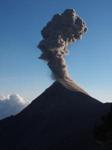 Erupting Volcan Fuego