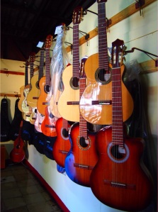 Guitar maker in Masaya