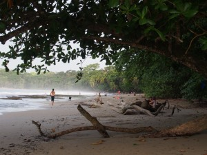Walking the beAch, Puerton Viejo, Costa Rica