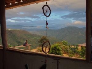 Mountain views at the Rock Refugio, La Mojarra, Colombia