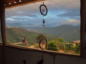 Mountain views at the Rock Refugio, La Mojarra, Colombia