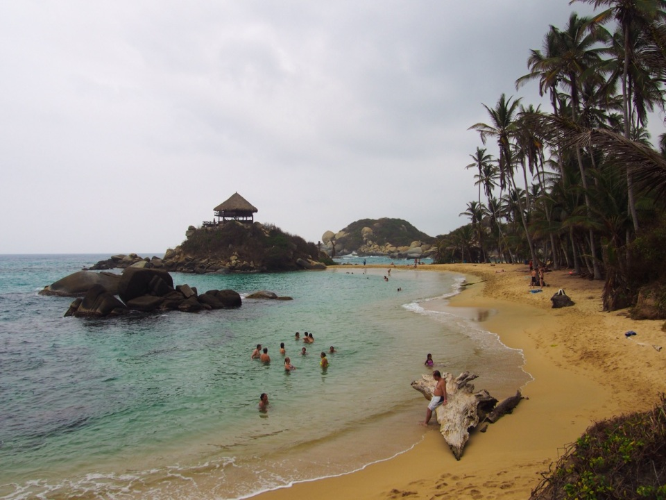 Cabo beach, Tayrona National Park, Colombia