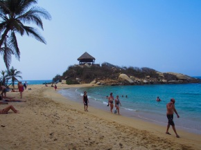 Coba beach, Tayrona National Park Colombia