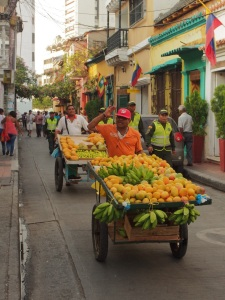 Buy fresh fruit from the many street venders and make your own juices