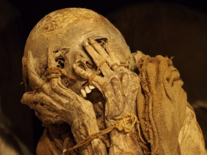 An Inca Mummy discovered in Peru