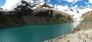 Laguna Archuaycocha in Huascarán National Park
