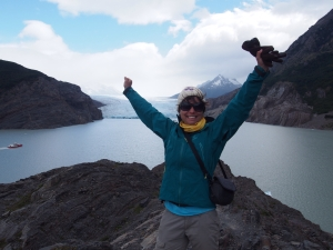 The end of the W, Glacier Grey, Torres del Paine
